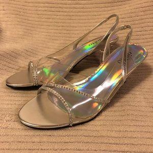 Rialto silver shoes